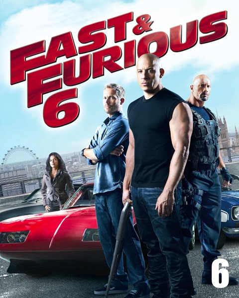 Fast & Furious 6 – Extended (HD) Vudu / Movies Anywhere Redeem