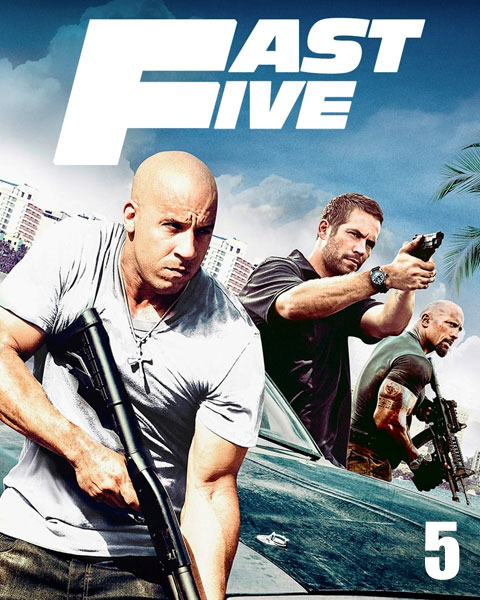 Fast Five – Extended (HD) ITunes Redeem (Ports To MA)