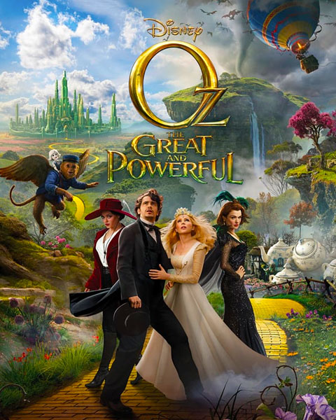 Oz The Great And Powerful (HD) ITunes Redeem (Ports To MA)