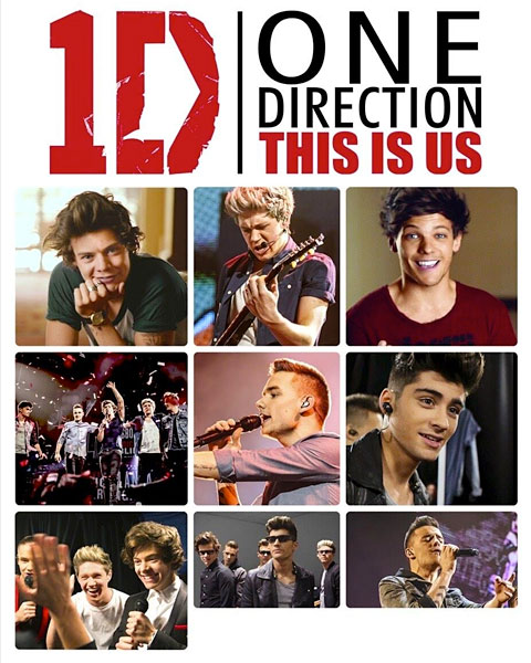 One Direction: This Is Us (HD) Vudu / Movies Anywhere Redeem