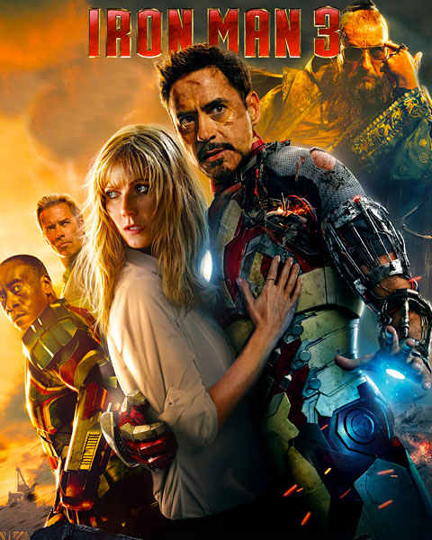 Iron Man 3 (HD) Google Play Redeem (Ports To MA)