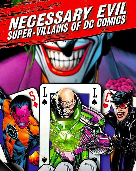 Necessary Evil: Super-Villians Of DC Comics (HD) Vudu / Movies Anywhere Redeem