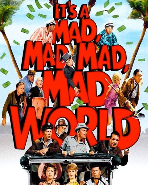 It's A Mad, Mad, Mad, Mad World (HDX) Vudu Redeem