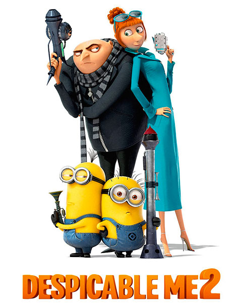 Despicable Me 2 (4K) ITunes Redeem (Ports To MA)