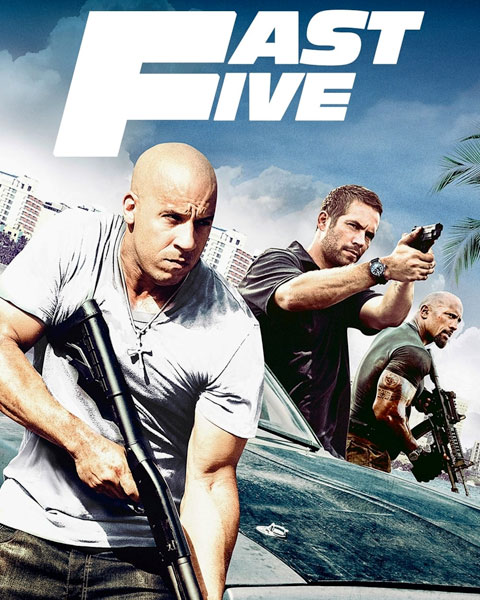 Fast Five – Extended Edition (SD) Vudu / Movies Anywhere Redeem