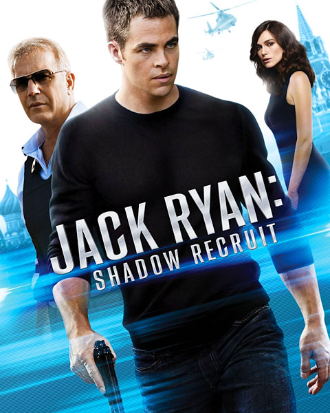 Jack Ryan: Shadow Recruit (HDX) Vudu Redeem