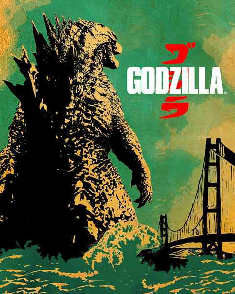 Godzilla – 2014 (HD) Vudu / Movies Anywhere Redeem