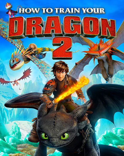 How To Train Your Dragon 2 (HD) Vudu / Movies Anywhere Redeem