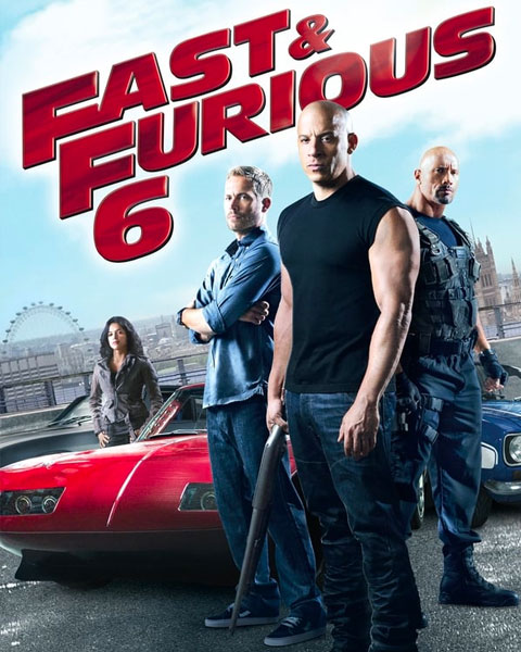 Fast & Furious 6 – Extended (4K) ITunes Redeem (Ports To MA)