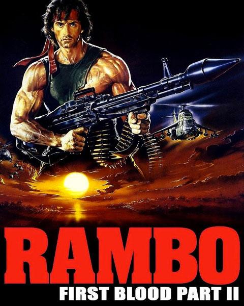 Rambo: First Blood Part II (4K) Vudu Redeem