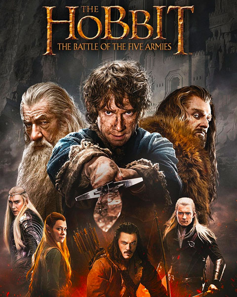 The Hobbit: The Battle Of The Five Armies (HD) Movies Anywhere Redeem