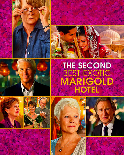 The Second Best Exotic Marigold Hotel (HD) Vudu / Movies Anywhere Redeem