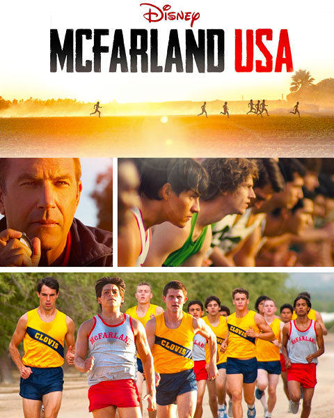 McFarland, USA (HD) Google Play Redeem (Ports To MA)