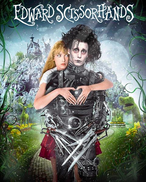 Edward Scissorhands (HD) Vudu / Movies Anywhere Redeem