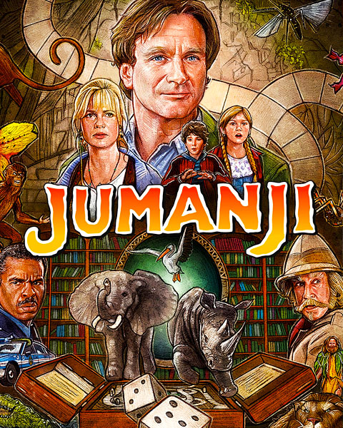Jumanji – 1995 (4K) Vudu / Movies Anywhere Redeem