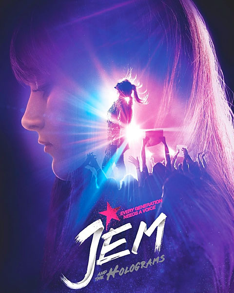 Jem And The Holograms (HD) ITunes Redeem (Ports To MA)