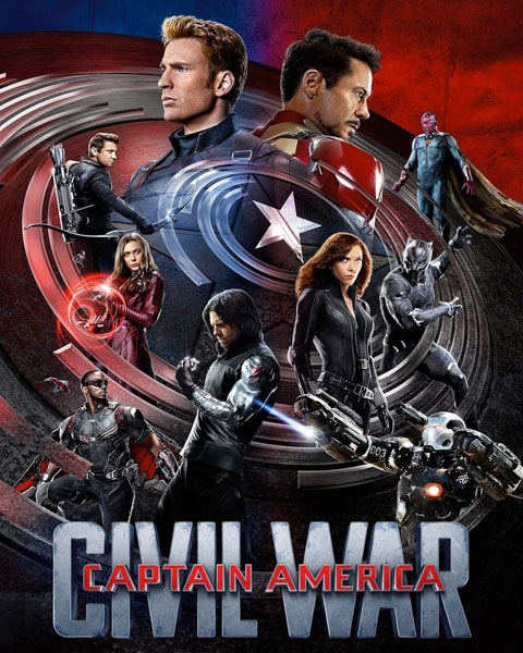 Captain America: Civil War (HD) Google Play Redeem (Ports To MA)