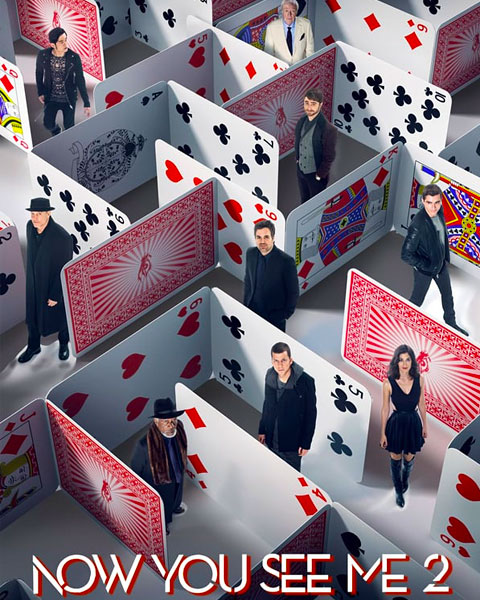 Now You See Me 2 (SD) Vudu Redeem
