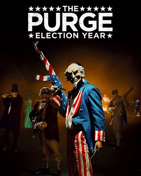 The Purge: Election Year (4K) ITunes Redeem (Ports To MA)
