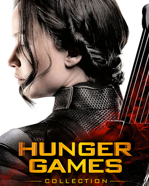 The Hunger Games Complete 4 Film Collection (HDX) Vudu Redeem