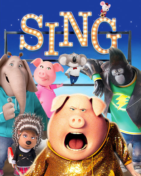 Sing (4K) ITunes Redeem (Ports To MA)