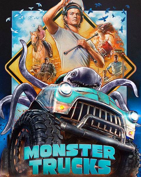 Monster Trucks (HDX) Vudu Redeem