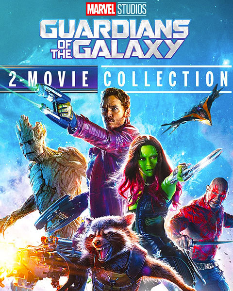 Guardians Of The Galaxy 2-Movie Collection (HD) Google Play Redeem (Ports To MA)