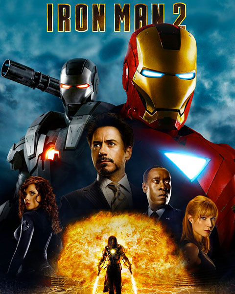 Iron Man 2 (HD) Google Play Redeem (Ports To MA)