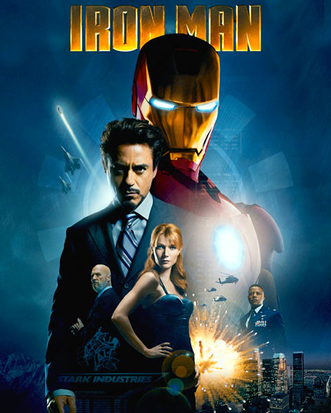 Iron Man (HD) Google Play Redeem (Ports To MA)