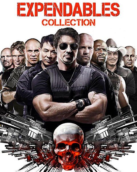 The Expendables Collection (HD) Vudu Redeem