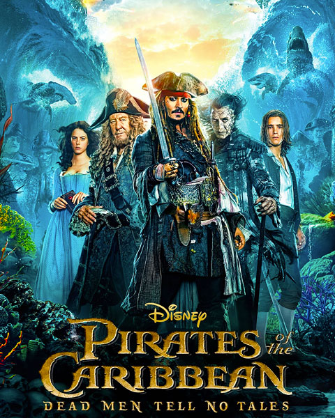 Pirates Of The Caribbean: Dead Men Tell No Tales (HD) Google Play Redeem (Ports To MA)
