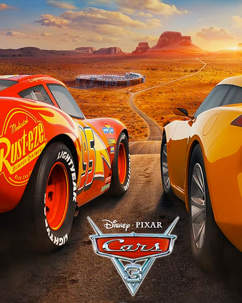 Cars 3 (HD) Google Play Redeem (Ports To MA)