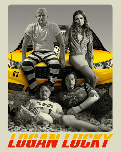 Logan Lucky (4K) ITunes Redeem (Ports To MA)