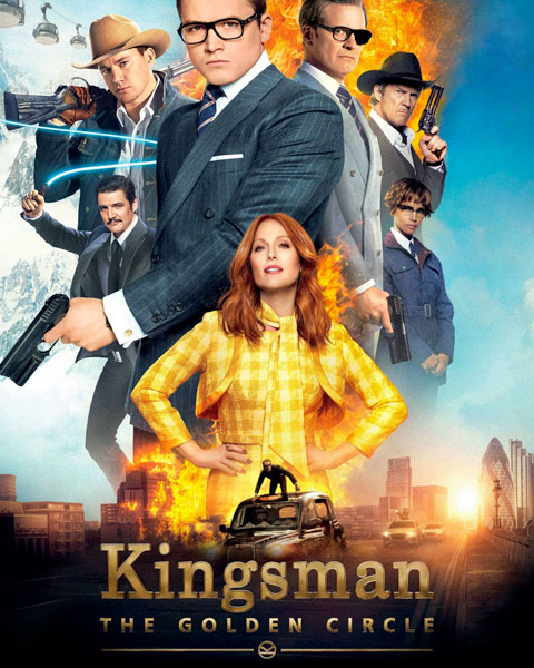 Kingsman: The Golden Circle (HD) Vudu / Movies Anywhere Redeem