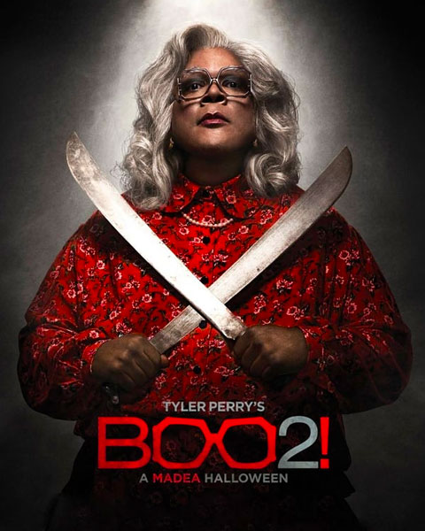 Boo 2! A Madea Halloween (HD) Vudu Redeem