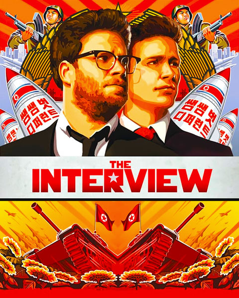 The Interview (SD) Vudu / Movies Anywhere Redeem
