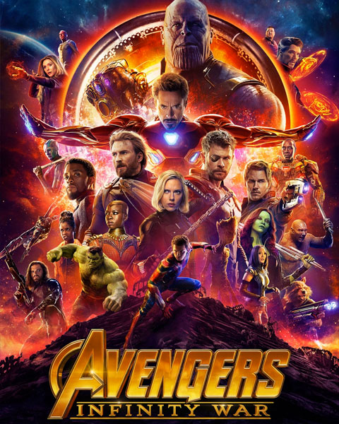 Avengers: Infinity War (HD) Google Play Redeem (Ports To MA)