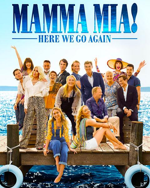 Mamma Mia! Here We Go Again (4K) Vudu / Movies Anywhere Redeem