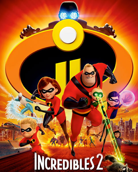 Incredibles 2 (4K) ITunes Redeem (Ports To MA)