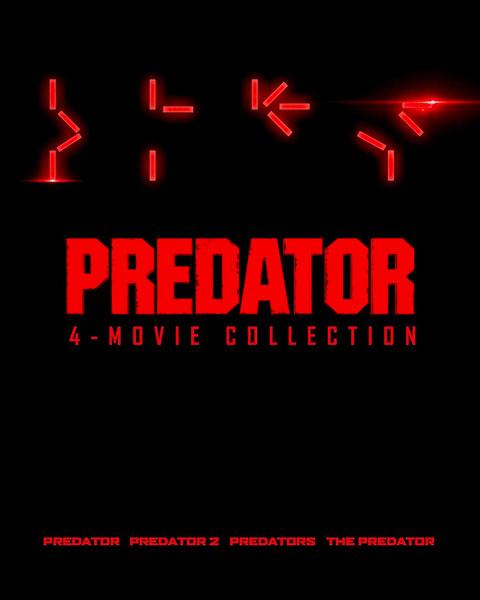 Predator 4-Movie Collection (4K) Movies Anywhere Redeem