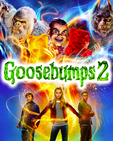 Goosebumps 2: Haunted Halloween (HD) Vudu / Movies Anywhere Redeem
