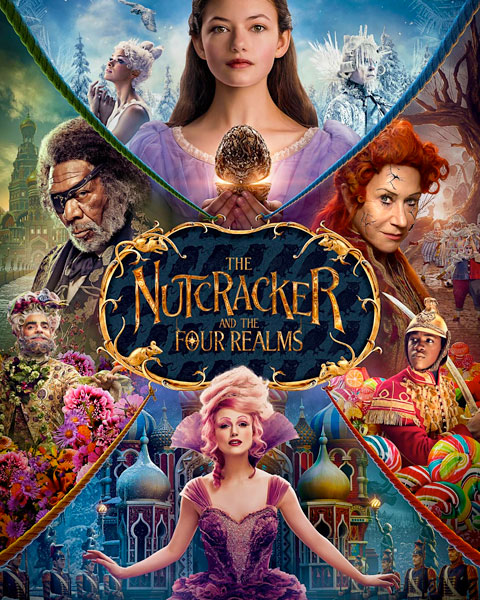 The Nutcracker And The Four Realms (4K) ITunes Redeem (Ports To MA)