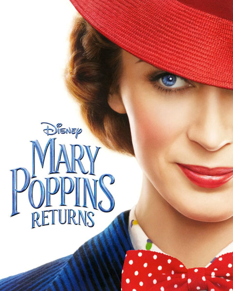 Mary Poppins Returns (4K) ITunes Redeem (Ports To MA)