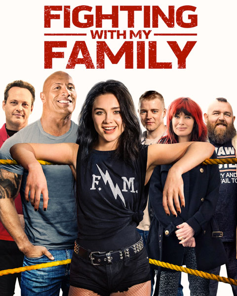 Fighting With My Family (HD) ITunes Redeem