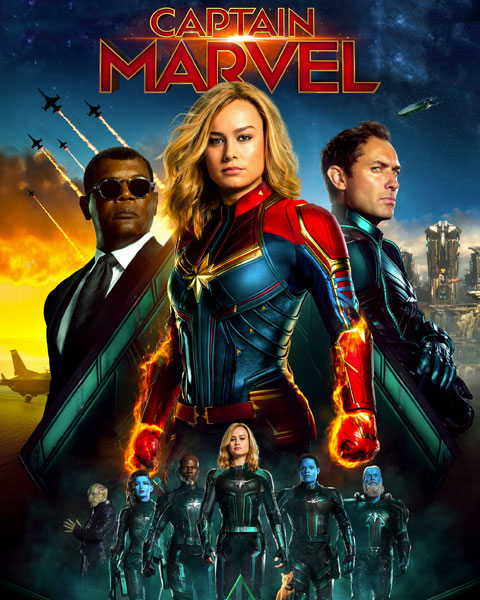 Captain Marvel (HD) Google Play Redeem (Ports To MA)