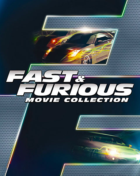 Fast And Furious 8-Movie Collection (4K) Movies Anywhere Redeem