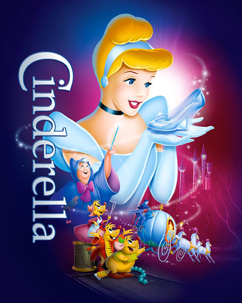 Cinderella – 1950 (HD) Google Play Redeem (Ports To MA)