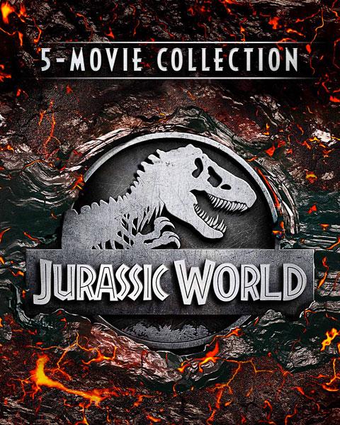 Jurassic World 5-Movie Collection (4K) Movies Anywhere Redeem