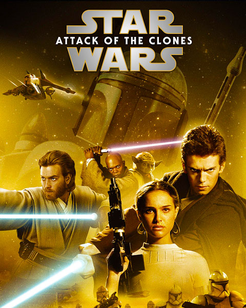 Star Wars: Attack Of The Clones (HD) Google Play Redeem (Ports To MA)