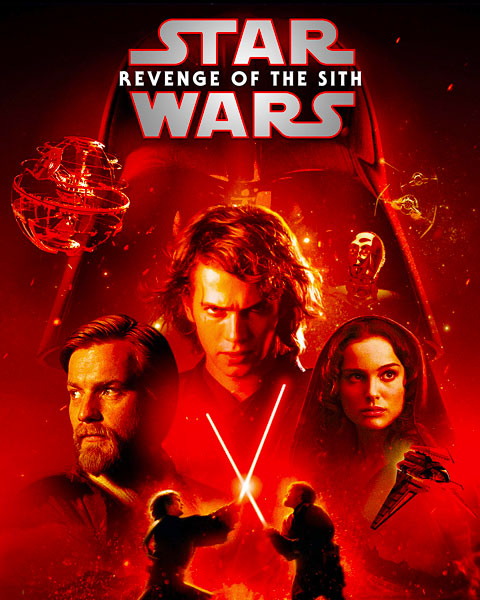 Star Wars: Revenge Of The Sith (4K) Vudu / Movies Anywhere Redeem